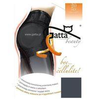 Gatta Bye Cellulite 20 den rajstopy korygujące, kolor czarny