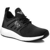 Sneakersy - sneaker minimal running u x8x024 xcc06 00002 black marki Ea7 emporio armani