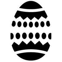 Szabloneria Szablon malarski, wielorazowy, wzór wielkanoc 12 - pisanka