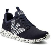 Sneakersy EA7 EMPORIO ARMANI - X8X007 XK073 D813 Navy/White, kolor niebieski