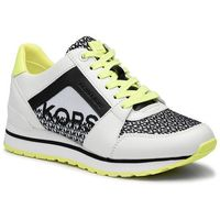 Sneakersy MICHAEL MICHAEL KORS - Billie Trainer 43T9BIFS2L Optic Wht/Blk