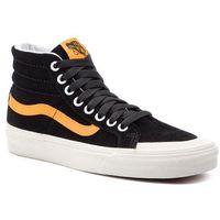 Sneakersy VANS - Sk8-Hi Reissue 13 VN0A3TKPB0Y1 Black/Zinnia, kolor czarny