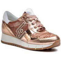 Liu jo Sneakersy - gigi 02 b19019 ex006 rose gold a7771