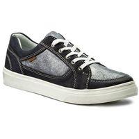 Sneakersy - wi12-milly-17 granatowy, Lasocki, 37-39