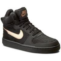 Nike Buty - w nike court borough mid prem 844907 002 black/mtlc red bronze/black