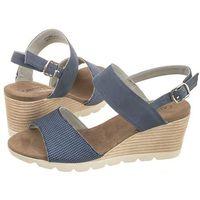 Sandały Caprice Niebieskie 9-28701-20 809 Blue Comb (CP100-a), w 7 rozmiarach