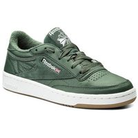 Buty Reebok - Club C 85 Estl CM8793 Chalk Green/White/Wshblu, kolor zielony