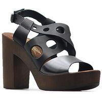 Sandały 40120 czarne/niklowe marki Lemar