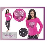 Piżama damska LINDA: fuksja, kolor różowy