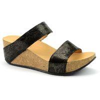 Sandały Lesta 1184 czarny, w 6 rozmiarach