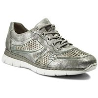 Sneakersy - m5228-90 silver/platinum, Rieker