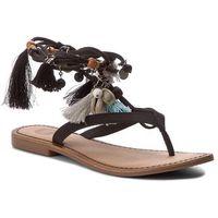 Sandały - decore 40656-02 black marki Gioseppo