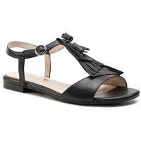 Sandały CAPRICE - 9-28113-22 Black Nappa 022, kolor czarny