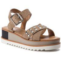 Sandały XTI - 48810 Micrfb Taupe, kolor beżowy