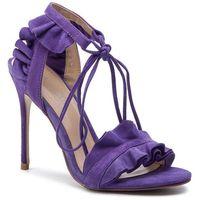 Sandały EVA MINGE - EM-35-05-000330 235, kolor fioletowy