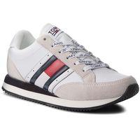 Tommy jeans Sneakersy - rwb casual retro sne en0en00289 rwb 020