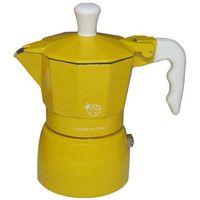 Kawiarka  coccinella żółta - 1 filiżanka marki Top moka