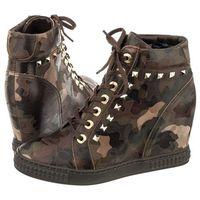 Sneakersy Carinii Zielone Moro B3028/P (CI205-b), B3028/P Moro