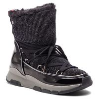 Botki - cool glitter winter boot fw0fw03696 black 990 marki Tommy hilfiger