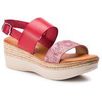 Sandały SERGIO BARDI - SB-24-07-000147 608, kolor czerwony
