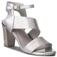Caprice Sandały - 9-28315-30 silver metal 920