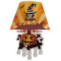 Świecąca naklejka na ścianę - lampa dynia - 22 cm marki Carnival