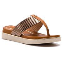 Japonki WRANGLER - Clipper Karen Thong WL91651A Bronze 097, kolor brązowy
