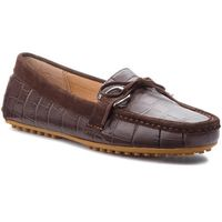 Mokasyny - briley ii 802710082001 dark brown marki Lauren ralph lauren