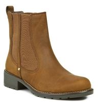 Clarks Sztyblety - orinoco hot 203569894 brown wlined lea