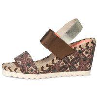 Desigual sandały damskie Ibiza 40 brązowy, kolor brązowy