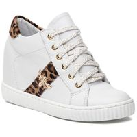 Sneakersy R.POLAŃSKI - 0959 Biały Lico Pantera, kolor biały