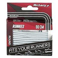 Sznurowadła Mr Lacy Runnies Round 90 cm, RUNNIES-ROUND-GREY