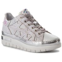 Sneakersy - 181k7306crpetclx argento/bianco/bianco/a, Khrio