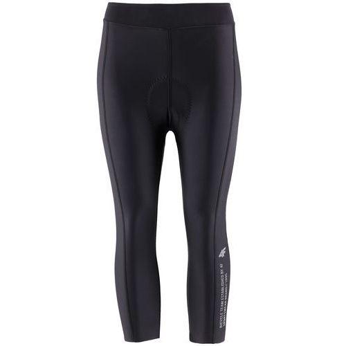 Getry rowerowe damskie RSD151 - głęboka czerń, kolor czarny