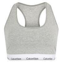 Calvin Klein Underwear Biustonosz 'UNLINED BRALETTE' nakrapiany szary, braletka