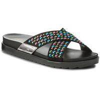 Liu jo Klapki - sandalo footbed s18139 t9474 black 22222