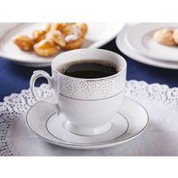 Mariapaula filiżanka cappuccino 350ml i spodek 17cm dek.snow (l03) gift box marki Altom