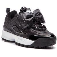 Sneakersy - disruptor glam low wmn 1010537.25y black marki Fila