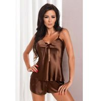 aria czekoladowy piżama damska marki Irall