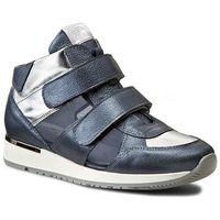 Sneakersy - 1652/149-p niebieski srebrny, Karino