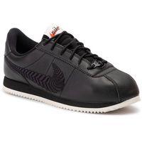Buty - cortez basic prm emb (gs) av1336 001 black/black/pale ivory marki Nike