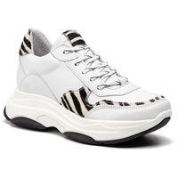 Sneakersy STEVE MADDEN - Zela SM11000314-03001-WZEB White/Zebra, kolor biały