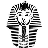 Szabloneria Szablon malarski z tworzywa, wielorazowy, wzór etniczny 20 - maska faraona