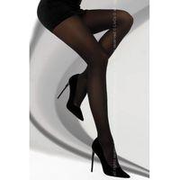LivCo Corsetti Fashion Clamancea 60 DEN Black rajstopy, kolor czarny