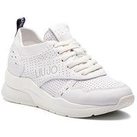 Sneakersy LIU JO - Karlie 14 B19009 P0102 White 01111, kolor biały