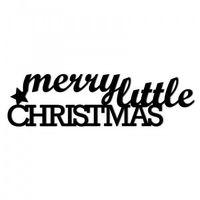 Świąteczny napis na ścianę MERRY LITTLE CHRISTMAS MLC1-1, MLC1-1