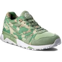 Diadora Sneakersy - n900 camo 501.171821 01 70201 golf club green