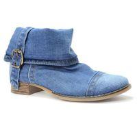 Botki 40c201 jeans, Lanqier, 36-40