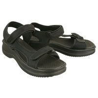 AZALEIA 320 323 black, sandały damskie - Czarny, kolor czarny