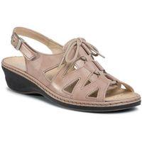 Sandały - 711040 beige 8 marki Comfortabel